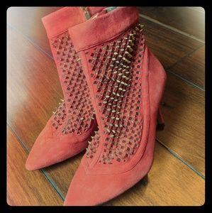 Zara spikey boots